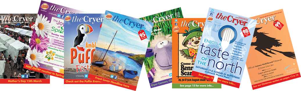 The Cryer Magazine Covers